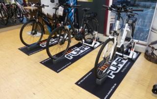 Logoneo Displaymatten - Fuhr Fahrräder