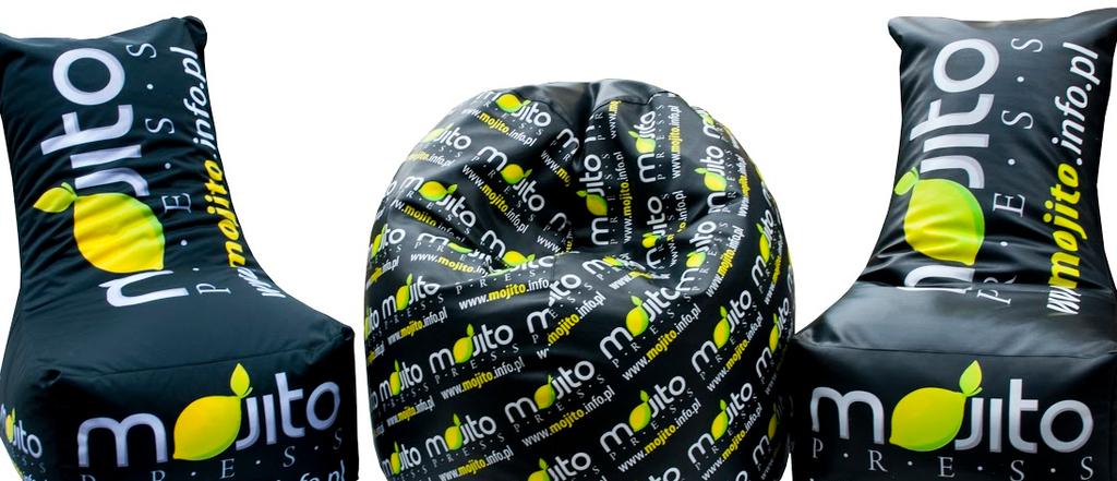Sitzsäcke mit Logo - Mojito