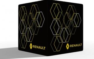 Sitzwürfel Renault - Polyester