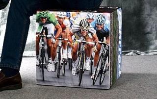 Sitzwürfel Polyester - Tour de France