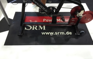Vollgummi Werbematte - SRM
